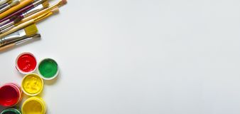 Farby i muśnięcia, Na białym tle zdjęcie royalty free