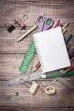 Farby i ołówki Obraz Royalty Free