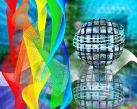 Farby internet Fotografia Stock