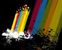 farby kolorowa tęcza ilustracja wektor