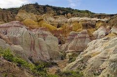 Farby kopalni park na wschód od Colorado Springs, CO Zdjęcie Stock