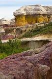 Farby kopalni park na wschód od Colorado Springs, CO Zdjęcia Stock