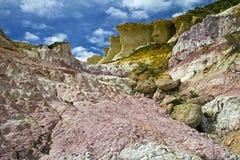 Farby kopalni park na wschód od Colorado Springs, CO Fotografia Stock