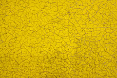 farby krakingowy kolor żółty Obraz Stock