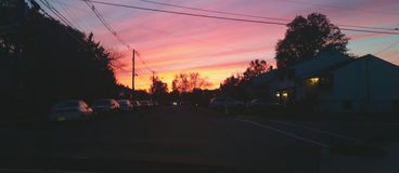 farby niebo Zdjęcia Stock
