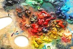 Farby paleta zdjęcie royalty free