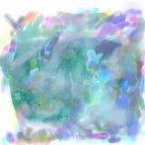 Farby plamy akwareli plamy royalty ilustracja