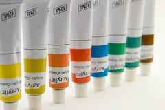 farby probówki Zdjęcie Stock