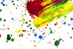 farby splatter Obraz Stock