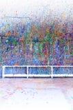 farby splatter Obraz Royalty Free