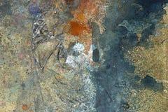 Farby splatter, plamy na podłogowym tle/ Zdjęcia Royalty Free