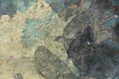 Farby splatter, plamy na podłogowym tle/ Obrazy Royalty Free