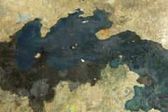 Farby splatter, plamy na podłogowym tle/ Fotografia Stock