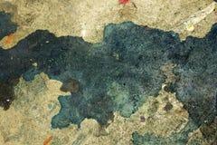 Farby splatter, plamy na podłogowym tle/ Zdjęcia Stock