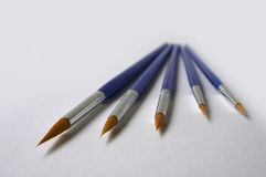 farby szczotka Obraz Stock
