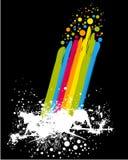 farby tęcza royalty ilustracja