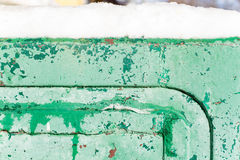 Farby tła krakingowy stary błękit Fotografia Stock