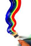 farby tęcza Zdjęcia Royalty Free