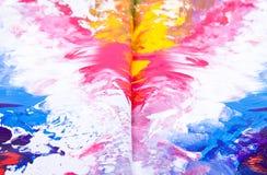 farby tekstura Zdjęcie Stock