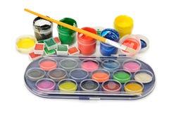 farby ustawiać Zdjęcie Stock