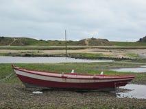 Fard à joues de bateau (bateau rouge) Photo libre de droits