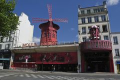 Fard à joues de Moulin Photos stock