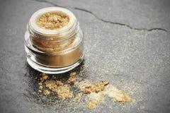 Fard à paupières de poudre Photo stock