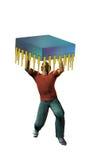 Fardeau 2 de technologie illustration de vecteur