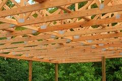 Fardos de madeira fotografia de stock royalty free