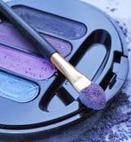 Fards à paupières violets Image stock