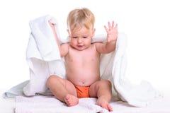 Fare da baby-sitter caucasico Immagine Stock Libera da Diritti