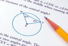 Fare un certo per la matematica del banco di grado Immagine Stock