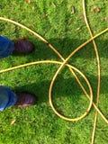 Fare una pausa un tubo flessibile Fotografia Stock Libera da Diritti