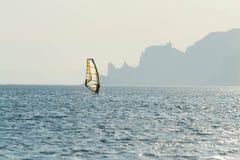 3 fare windsurf Fotografia Stock Libera da Diritti