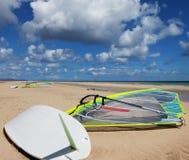 Fare windsurf Immagine Stock Libera da Diritti