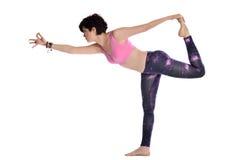 Fare yoga Fotografie Stock