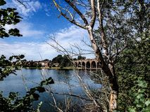 Fareham creek Stock Photo