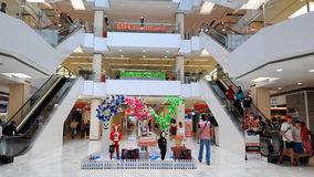 Farenheits-Einkaufszentrum Kuala Lumpur Stockfoto