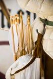 Faretra con le frecce Fotografia Stock Libera da Diritti