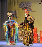 Farewell-Beijing Opera: Farewell to my concubine Royalty Free Stock Photo