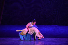 "Farewell bros-Dance drama ""The Dream of Maritime Silk Road"" Royalty Free Stock Photos"
