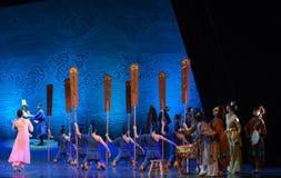 "Farewell-Dance drama ""The Dream of Maritime Silk Road"" Stock Photos"