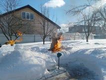 Farewell winter Stock Photos