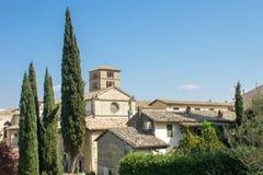 Farfa的修道院 库存图片