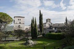 Farfa abbotskloster Arkivbilder