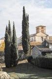 Farfa-Abtei Stockfotos