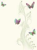 Farfalla. Immagini Stock