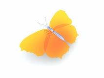 farfalla 3d illustrazione di stock