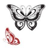 Farfalla astratta Immagini Stock Libere da Diritti
