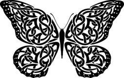 Farfalla celtica Immagini Stock